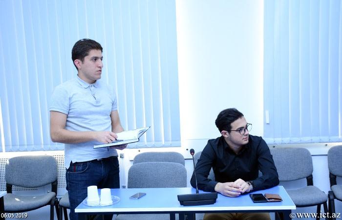 """AMEA İnformasiya Texnologiyaları İnstitutu. 4 saylı şöbənin """"Fog computing texnologiyaları: müasir vəziyyəti və perspektivləri"""" mövzusuna həsr olunmuş elmi seminarı"""