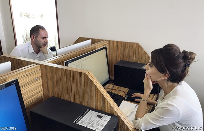Naxçıvan Dövlət Universiteti. Doktorant və dissertantların İnformatika fənnindən distant formada doktorluq imtahanı