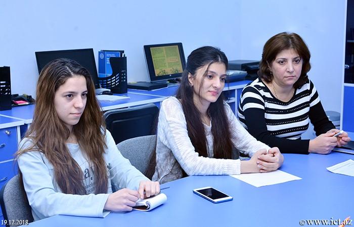 AMEA İnformasiya Texnologiyaları İnstitutu.  8 saylı şöbənin elmi seminarı