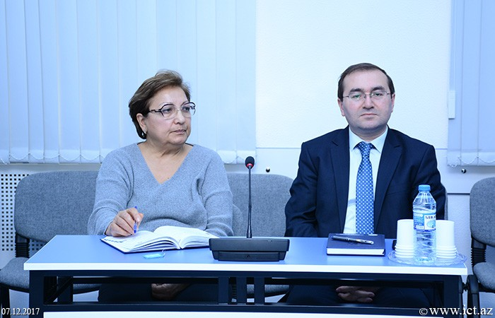 AMEA İnformasiya Texnologiyaları İnstitutu. Fransız-Azərbaycan Universitetinin nümayəndələri ilə görüş