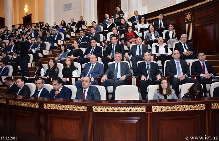 AMEA-nın Əsas Binası. Azərbaycan Gənc Alimlərinin I Qurultayı