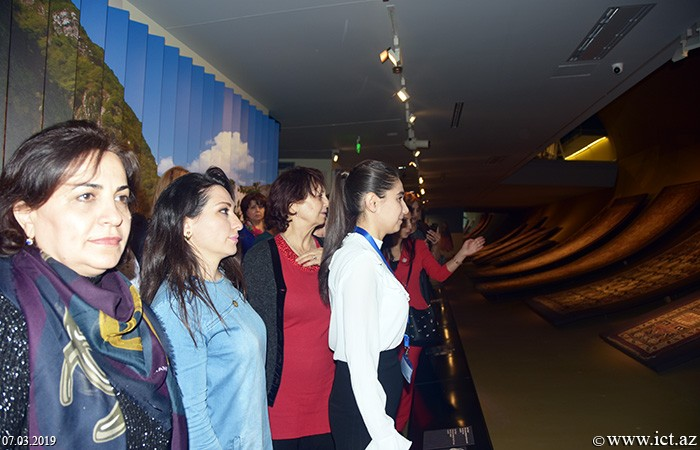 Azerbaijan Carpet Museum. The staff of the Institute visited Azerbaijan Carpet Museum