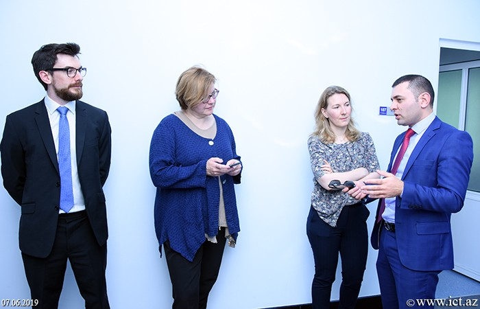 AMEA İnformasiya Texnologiyaları İnstitutu. GEANT-ın beynəlxalq layihələr üzrə meneceri Veronika Di Luna ilə görüş