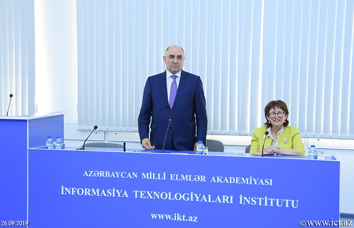 Institute of Information Technology of ANAS. A meeting with students of the Baku European Lyceum