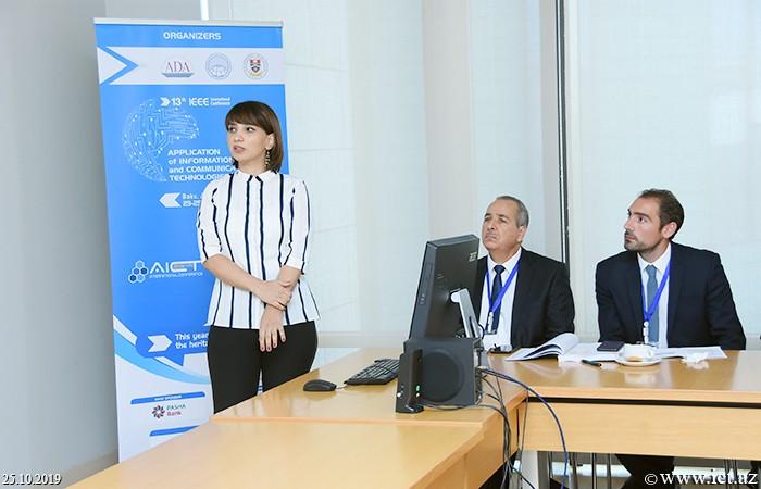 AMEA İnformasiya Texnologiyaları İnstitutu, ikt.az, ict.az,  Ramiz Şıxəliyev, Nərmin Adıgözəlova