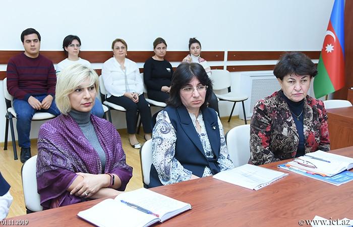 AMEA İnformasiya Texnologiyaları İnstitutu, ikt.az, ict.az, Mədinə Səidova,  Rəsmiyyə Mahmudova, Dinara Zeynalova