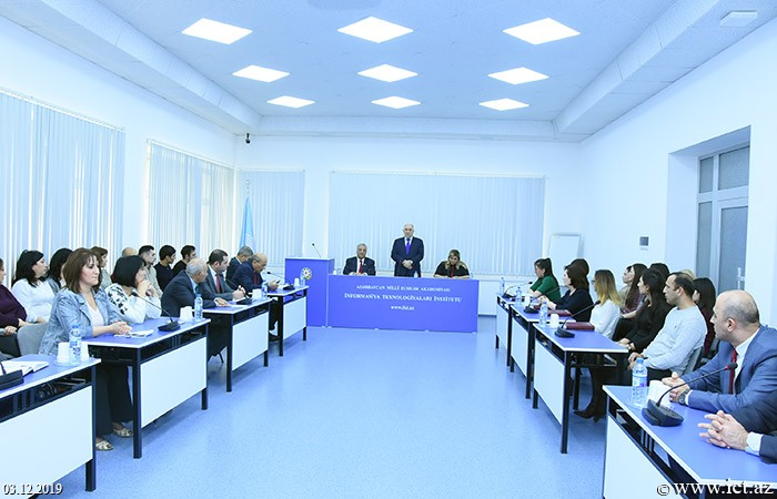 Institute of Information Technology of ANAS. Meeting on establishment of the first core organization of the New Azerbaijan Party