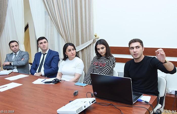 AMEA İnformasiya Texnologiyaları İnstitutu, ikt.az, ict.az, Günel Məmmədova, Fərhad Yusifov