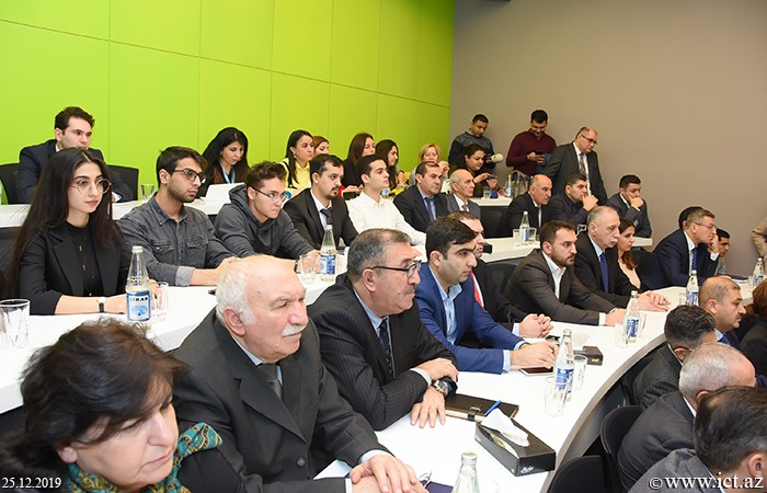 "Azerbaijan State Oil and Industry University. Academician Rasim Alguliyev: ""Very powerful information technology infrastructure is formed in our country"""