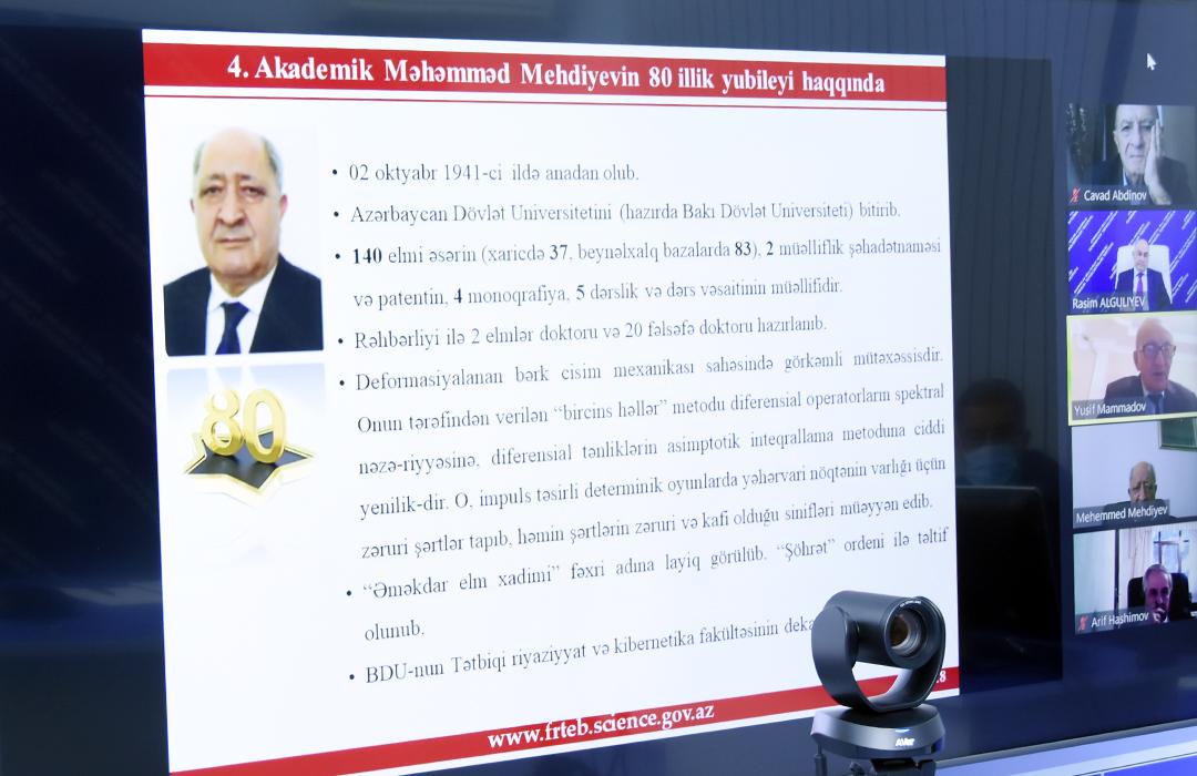 ikt.az, ict.az,  Academician Muhammad Mehdiyev