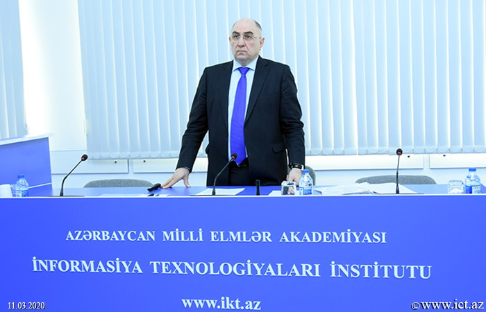 Rasim Alguliyev, Alguliyev, Rasim, Rasim Alguliyev, Alguliyev, Rasim Alquliyev, ikt.az, ict.az, ANAS, Academy of Sciences, academy, Rasim, award, Institute of Information Technology,  Institute of Information Technology of ANAS
