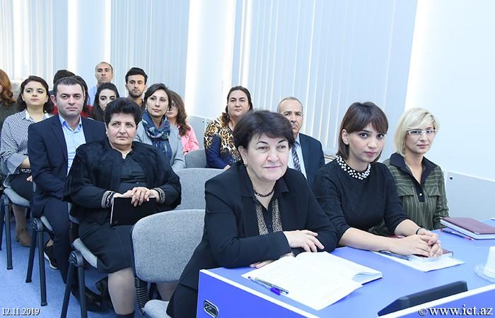 AMEA İnformasiya Texnologiyaları İnstitutu, ikt.az, ict.az,  Mədinə Səidova,  Nərmin Adıgözəlova, Dinara Zeynalova