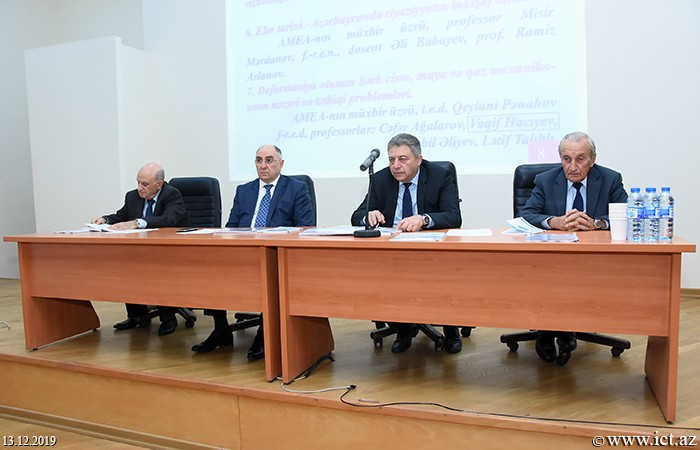Institute of Control Systems. Annual activity of the Division of Physical-Mathematical and Technical Sciences discussed