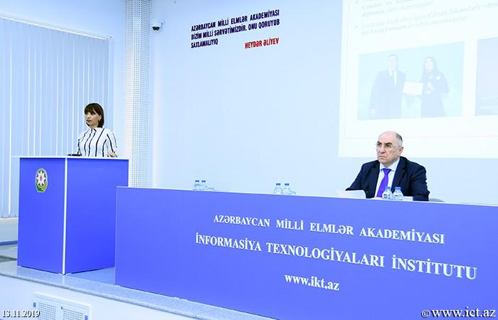 AMEA İnformasiya Texnologiyaları İnstitutu. Gənc Alim və Mütəxəssislər Şurasının 2019-cu il üzrə illik hesabatı