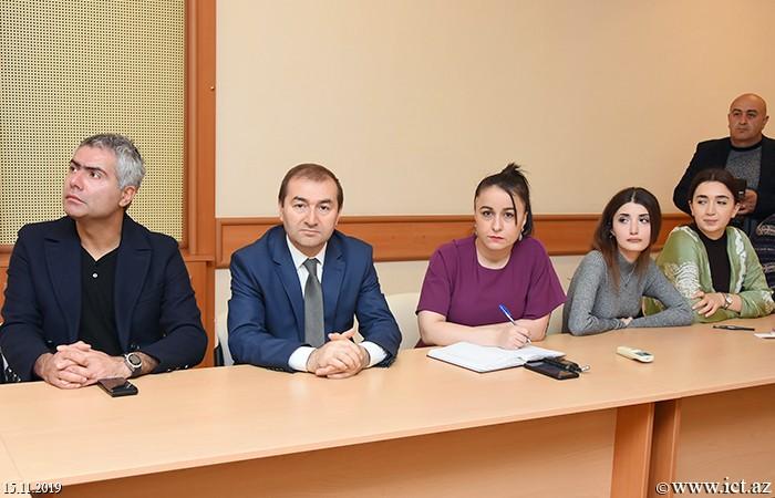AMEA İnformasiya Texnologiyaları İnstitutu, ikt.az, ict.az,  Rasim Mahmudov, Günel Məmmədova