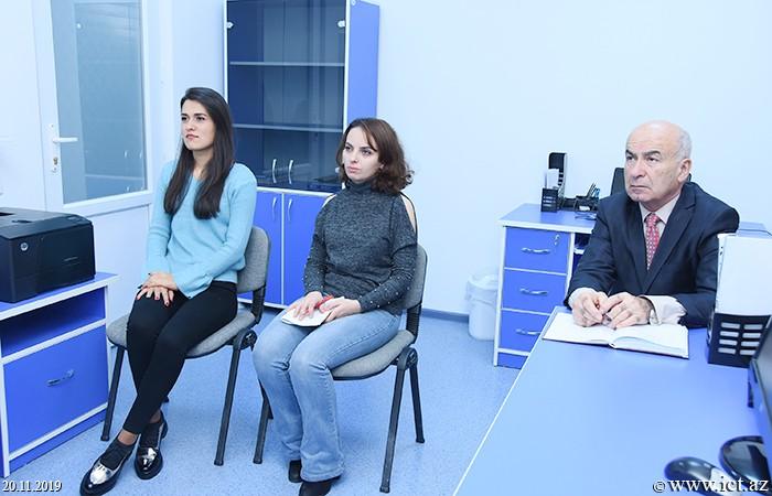 AMEA İnformasiya Texnologiyaları İnstitutu. 3 saylı şöbənin elmi seminarı