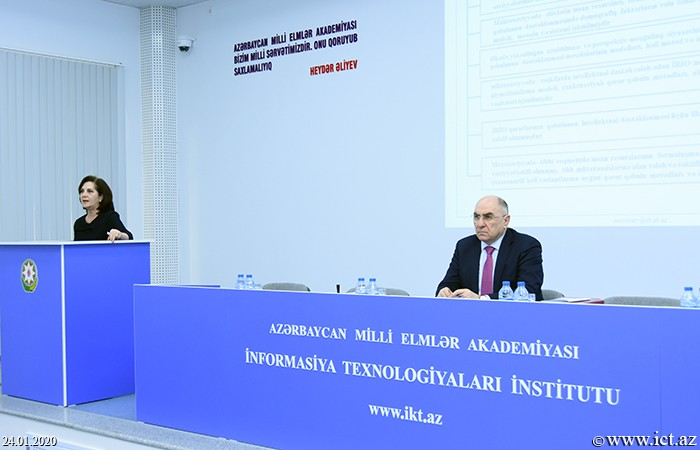 """Institue of Information Technology of ANAS. Thesis on """"Development of models and methods of intellectual support for human resource management in the information society"""" discussed"""