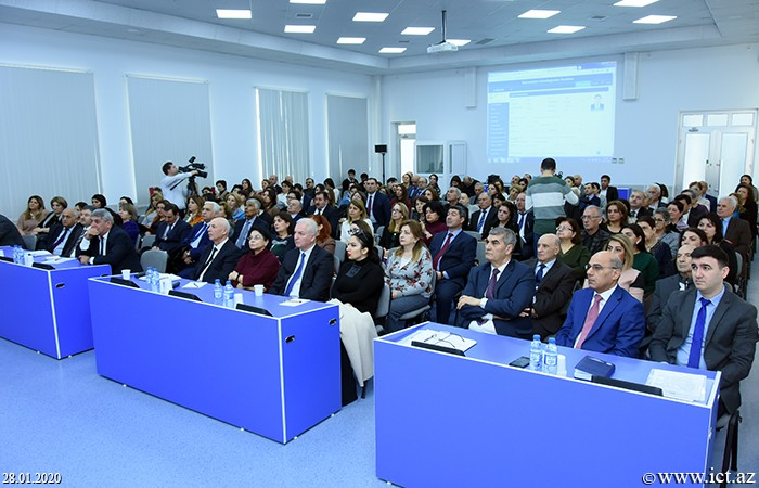 """Institute of Information Technology of ANAS. Presentation of the National Information System """"Scientific Personnel"""" was held"""