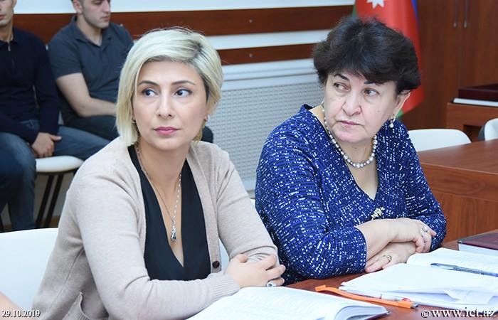 AMEA İnformasiya Texnologiyaları İnstitutu, ikt.az, ict.az, Mədinə Səidova, Dinara Zeynalova