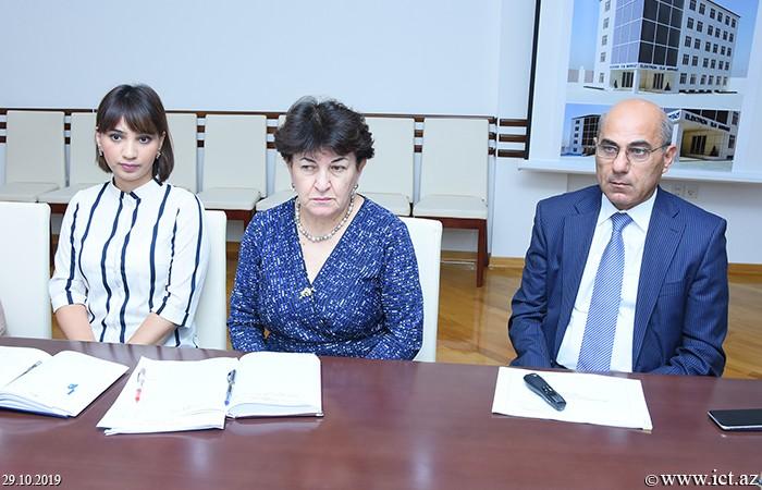 AMEA İnformasiya Texnologiyaları İnstitutu, ikt.az, ict.az, Mədinə Səidova,   Ramiz Alıquliyev, Nərmin Adıgözəlova