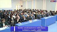 İnstitut əməkdaşlarının mükafatları kollektivə təqdim edilib