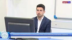 Doktorant və dissertantların informatika fənni üzrə doktorluq imtahanları başlanıb.
