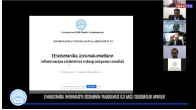 Etnobotanika informasiya sisteminin yaradılması ilə bağlı tədqiqatlar aparılır