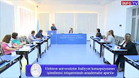 Researches are being carried out on the development of E-university activities concept