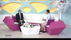Head of Public Relations Department of ANAS Rasim Mahmudov, gives interview to  ITV