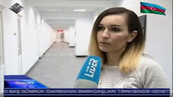 Ilaha Jabrayilova, researcher at  Institute of Information Technology of ANAS gives interview to ''Lider'' TV