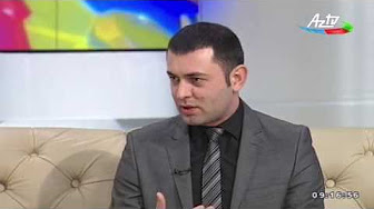 "Sector chief of the Institute of Information Technology of ANAS Babek Nabiyev speaks to AzTv's ""Seher"" program"