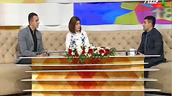 "Employee of IIT of ANAS Orkhan Mehdiyev gives interview to AzTV's ""Seher"" program"