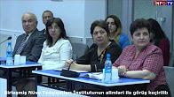 Birləşmiş Nüvə Tədqiqatları İnstitutunun alimləri ilə görüş keçirilib