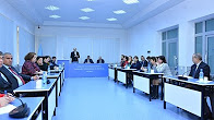 """Head of """"Eljakim Information Technology"""" company  made a speech at the Institute of Information Technology"""