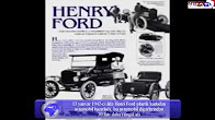 American industrialist Henry Ford patented a plastic automobile on this day in 1942