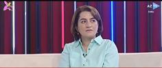 """AMEA İTİ-nin böyük elmi işçisi Rəhilə Həsənova AzTV-nin """"Çıxışa doğru"""" proqramında"""
