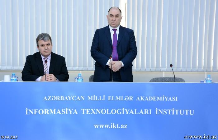 Meeting with Qafqaz University Rector Ahmad Sanich