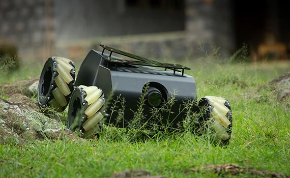 Cоздан наземный беспилотник для съемки в труднодоступных местах