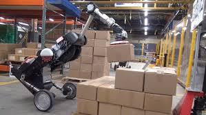 Yük daşıyan robot təqdim olunub