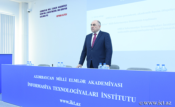 """Today the National Information System """"Scientific Personnel""""  launched"""