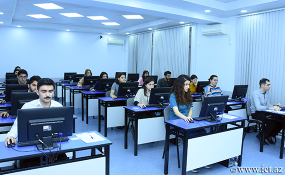 Session exams of master's students  of ANAS have started