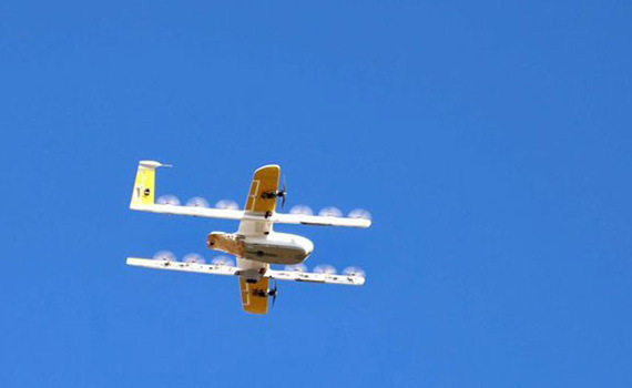 Google launches world's first unmanned delivery service