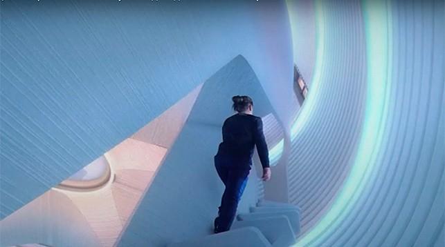 3D-printerdə Marsda yaşayış üçün ev çap olunub