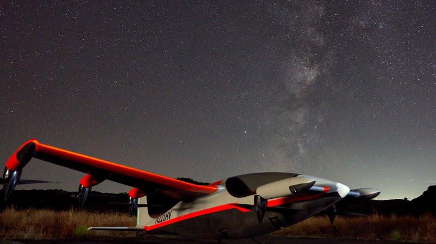 Бесшумный электрический самолет представили в США