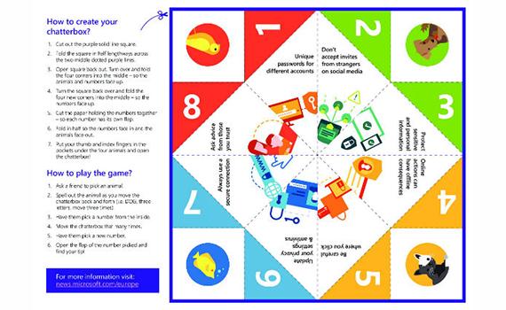 """""""Microsoft"""" uşaqlara onlayn-təhlükəsizlik qaydalarını öyrətmək üçün interaktiv oyun təqdim edib"""