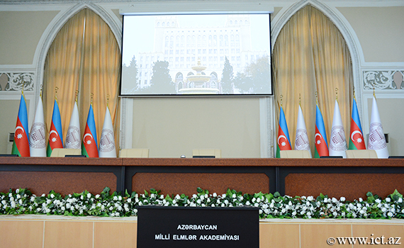 The audio-video system of the conference hall has been reconstructed at Presidium of ANAS