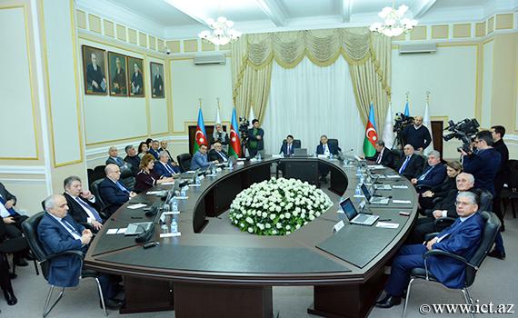 AMEA ilə Diasporla İş üzrə Dövlət Komitəsi arasında anlaşma memorandumu imzalanıb