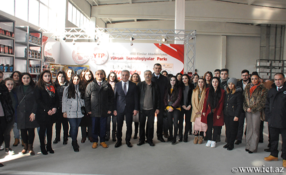 Young scientists of ANAS became acquainted with the production process of High Technologies Park