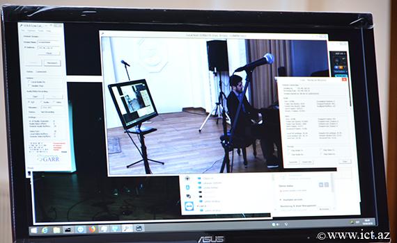 Bakı Musiqi Akademiyasında LOLA audiovizual sisteminin sınaqları keçirildi
