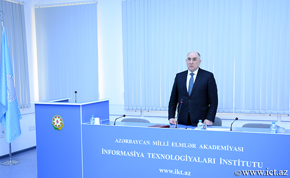 "Academician Rasim Alguliev: ""Analysis of social relations through information technologies should be carried out"""